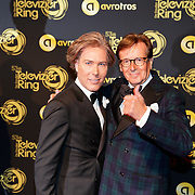 NLD/Amsterdam/20181011 - Televizier Gala 2018, Rogier Smit en Frank Jansen