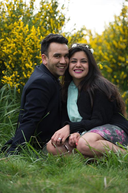 Rahul and Disha engagement photos by John Lill.