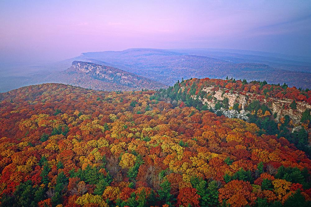New Paltz, New York, Shawanggunk Mountains, Minnewaska State Park, falll