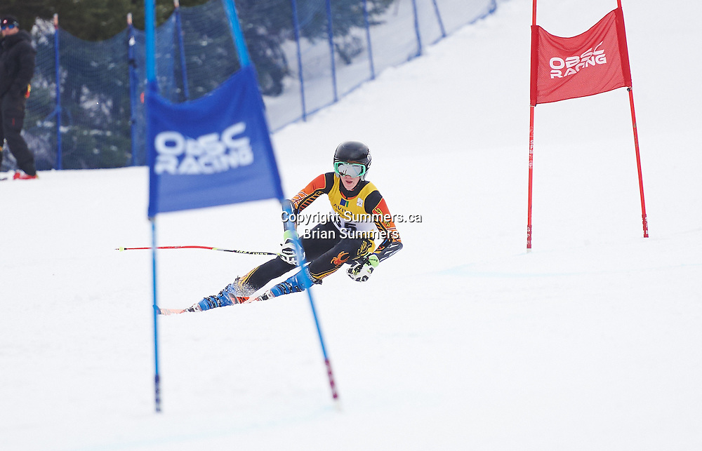 Aviva Division 1 Series Alpine Ontario South, Osler Bluff Ski Club, January 22, 2016 U16