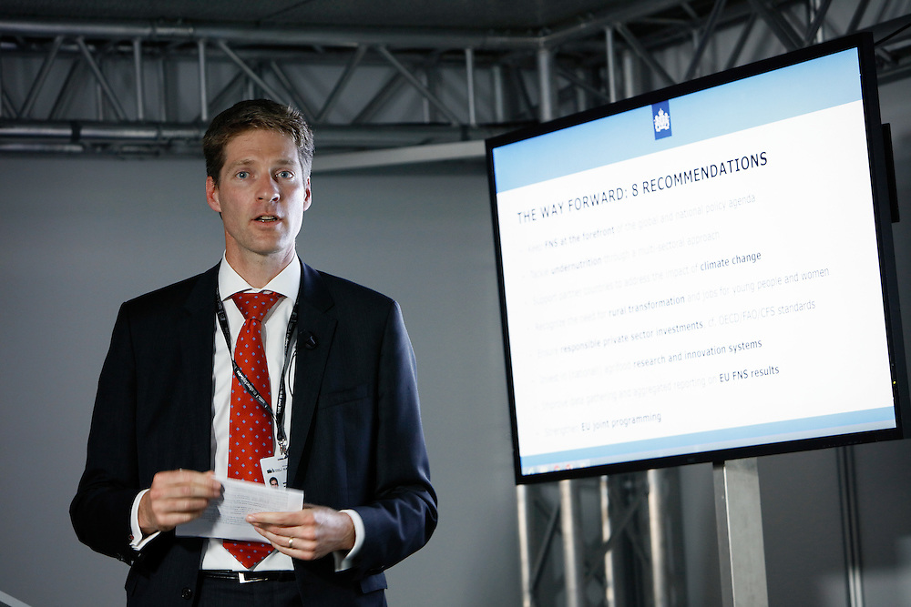 20160615 - Brussels , Belgium - 2016 June 15th - European Development Days - Marcel Beukeboom - Head Cluster Food and Nutrition Security, Netherlands Ministry of Foreign Affairs © European Union