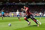 Joshua King (17) of AFC Bournemouth bursts forward during the Premier League match between Bournemouth and Tottenham Hotspur at the Vitality Stadium, Bournemouth, England on 4 May 2019.
