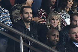 File photo of Robin Wright Penn and Clement Giraudet attending the UEFA Champions League Paris Saint-Germain (PSG) v Bayern Bayern Munich football match at Parc des Princes on September 27, 2017 in Paris, France. According to Pagesix, the Wonder Woman star is spending the holidays skiing with a handsome new beau, Clement Giraudet, worldwide VIP relations manager at upscale French fashion house Saint Laurent, in Tahoe City, California. House of Cards icon Wright, 51, and debonair Frenchman Giraudet were first pictured looking cozy together in September during Paris fashion week at a soccer match at Parc des Princes Stadium. Photo by Laurent Zabulon/ABACAPRESS.COM