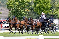 HASRM Mareike (GER), Amicello, Luxus Boy, Racciano, Zazou<br /> Aachen - CHIO 2018<br /> Fahren Teilprüfung Dressur<br /> 19. Juli 2018<br /> © www.sportfotos-lafrentz.de/Dirk Caremans