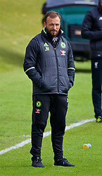 KIRKBY, ENGLAND - Saturday, April 29, 2017: Chelsea's Under-18 manager Jody Morris during an Under-18 FA Premier League Merit Group A match against Liverpool at the Kirkby Academy. (Pic by David Rawcliffe/Propaganda)