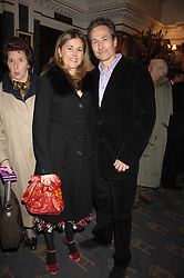 NICK & DOMINIQUE WORCESTER at a gala evening preview of Edward Albee's The Lady from Dubuque in aid of Masterclass at The Theatre Royal, Haymarket, London on 19th March 2007<br /><br />NON EXCLUSIVE - WORLD RIGHTS