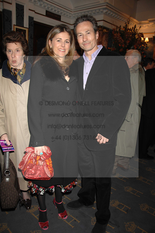 NICK &amp; DOMINIQUE WORCESTER at a gala evening preview of Edward Albee's The Lady from Dubuque in aid of Masterclass at The Theatre Royal, Haymarket, London on 19th March 2007<br />