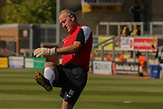 Coventry City legend Steve Ogizovic during the Sky Bet League 1 match between Burton Albion and Coventry City at the Pirelli Stadium, Burton upon Trent, England on 6 September 2015. Photo by Simon Davies.