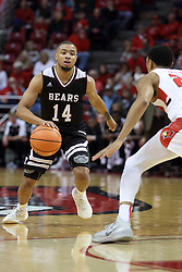 07 January 2018:  Ronnie Rousseau III defended by William Tinsley during a College mens basketball game between the Missouri State Bears and Illinois State Redbirds in Redbird Arena, Normal IL