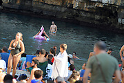 Fans and atmosphere during the Red Bull Cliff Diving World Series 2018 on September 23, 2018 in Polignano a Mare, Italy - Photo Marco Verri / ProSportsImages / DPPI