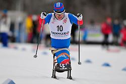 ANDREEVA Nadezda, RUS at the 2014 IPC Nordic Skiing World Cup Finals - Sprint