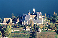 Abbaye de Haute Combe<br /> Lac du Bourget   Photo: Peter Llewellyn