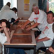 Olympische sportdag voor blinden van Visio Huizen