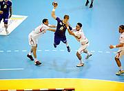 DESCRIZIONE : France Hand Equipe de France Homme Match Amical Nantes<br /> GIOCATORE : ACCAMBRAY William<br /> SQUADRA : France<br /> EVENTO : FRANCE Equipe de France Homme Match Amical  2010-2011<br /> GARA : France Tunisie<br /> DATA : 30/10/2010<br /> CATEGORIA : Hand Equipe de France Homme <br /> SPORT : Handball<br /> AUTORE : JF Molliere par Agenzia Ciamillo-Castoria <br /> Galleria : France Hand 2010-2011 Action<br /> Fotonotizia : FRANCE Hand Hand Equipe de France Homme Match Amical Nantes<br /> Predefinita :