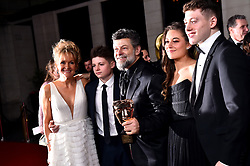 Andy Serkis with his Outstanding British Contribution to Cinema Bafta award attending the after show party for the 73rd British Academy Film Awards.