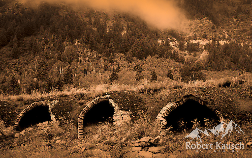 The old coke ovens harken back to the days of coal mining in Redstone.