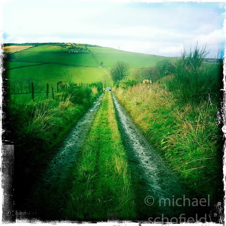 Near Aberdeen..Hipstamatic images taken on an Apple iPhone..©Michael Schofield.