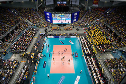 Arena Atlas  match for 3rd place of CEV Indesit Champions League FINAL FOUR tournament between PGE Skra Belchatow, POL and ACH Volley Bled, SLO on May 2, 2010, at Arena Atlas, Lodz, Poland. Belchatow defeated ACH 3-1. (Photo by Vid Ponikvar / Sportida)