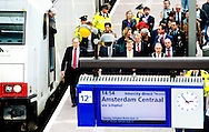 ROTTERDAM - King Willem Alexander opens the new Rotterdam Central Station. HTCOPYRIGHT ROBIN UTRECHT