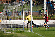 Dundee&rsquo;s Sofien Moussa opens the scoring - Cowdenbeath v Dundee in the Betfred Cup at Central Park, Cowdenbeath - Picture by David Young<br /> <br />  - &copy; David Young - www.davidyoungphoto.co.uk - email: davidyoungphoto@gmail.com