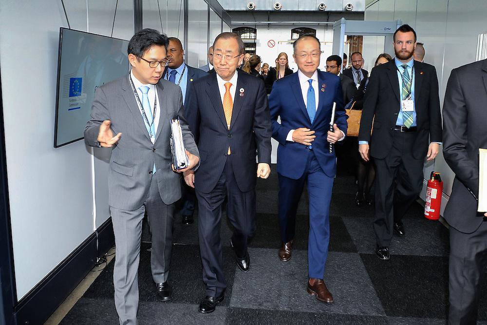 20160615 - Brussels , Belgium - 2016 June 15th - European Development Days - Ban Ki-Moon visiting the UN stand © European Union