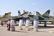 Israel, Hazirim, near Beer Sheva, Israeli Air Force museum. The national centre for Israel's aviation heritage.