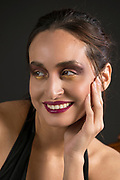 Makeup art project. Photographer: Andrew; Makeup artist: Ksara; model Iselita