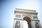 Tuesday May 6th 2008..Paris, France.In a car.Place de l'Etoile, 17th Arrondissement..