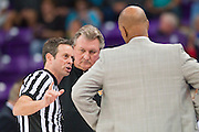 FORT WORTH, TX - JANUARY 4: West Virginia Mountaineers head coach Bob Huggins of the looks on against the TCU Horned Frogs on January 4, 2016 at Ed and Ray Schollmaier Arena in Fort Worth, Texas.  (Photo by Cooper Neill/Getty Images) *** Local Caption *** Bob Huggins