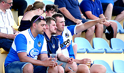 Bristol Rovers fans in Portugal to watch Hull City v Bristol Rovers in a preseason friendly - Mandatory by-line: Robbie Stephenson/JMP - 18/07/2017 - FOOTBALL - Estadio da Nora - Albufeira,  - Hull City v Bristol Rovers - Pre-season friendly