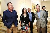 Arnold Schwarzenegger Visits Shanghai