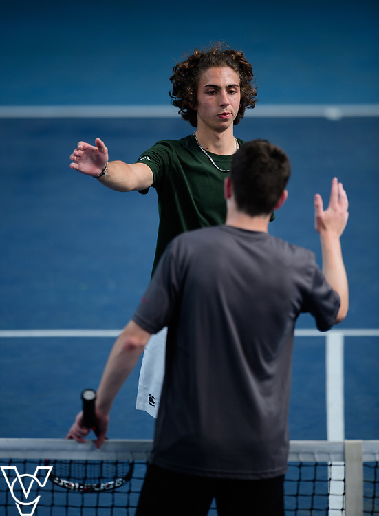 Team Tennis Schools National Championships Finals 2017 held at Nottingham Tennis Centre.  Bede's School and Aylesbury Grammar School<br /> <br /> Picture: Chris Vaughan Photography for the LTA<br /> Date: July 12, 2017