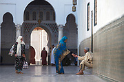 The pilgrimage town of Moulay Idriss nestles in the Rif Mountains of northern Morocco.