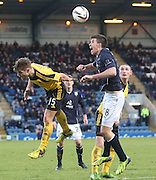 Declan Gallagher and Ross Docherty - Dundee v Livingston,  SPFL Championship at Dens Park<br /> <br />  - &copy; David Young - www.davidyoungphoto.co.uk - email: davidyoungphoto@gmail.com