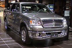 09 February 2006:  2007 Lincoln Mark LT pickup truck.....Chicago Automobile Trade Association, Chicago Auto Show, McCormick Place, Chicago IL