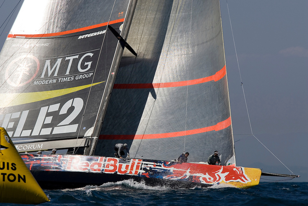 Valencia, SPAIN, Louis Vuitton Cup 2007, Round Robin 2, Flight 9.Victory Challenge (SWE)