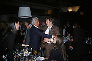 GIANCARLO GIACOMETTI AND SIR PAUL MCCARTNEY, Dinner given by Established and Sons to celebrate Elevating Design.  P3 Space. University of Westminster, 35 Marylebone Rd. London NW1. -DO NOT ARCHIVE-© Copyright Photograph by Dafydd Jones. 248 Clapham Rd. London SW9 0PZ. Tel 0207 820 0771. www.dafjones.com.