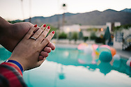 travel, friends and parties in palm springs on coachella weekend