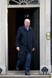 © licensed to London News Pictures. London, UK 18/03/2015. Justice Secretary Chris Grayling attending to a cabinet meeting in Downing Street on the Budget Day, Wednesday, 18 March 2015. Photo credit: Tolga Akmen/LNP