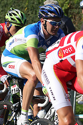 Borut Bozic (Slovenia) during the Men's Elite Road Race at the UCI Road World Championships on September 25, 2011 in Copenhagen, Denmark. (Photo by Marjan Kelner / Sportida Photo Agency)