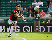 "Twickenham, Surrey United Kingdom.  Japans, Ryota KANO, during the Trophy Quater Fianl game France vs Japen, at the  ""2017 HSBC London Rugby Sevens"",  Sunday 21/05/2017 RFU. Twickenham Stadium, England    <br /> <br /> [Mandatory Credit Peter SPURRIER/Intersport Images]"