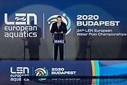 Ceremonies Budapest 2020