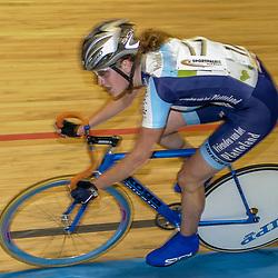 ALKMAAR (NED) wielrennen<br />NK Baanwielrennen ; vrouwen; ; klassement, Vera Koedooder