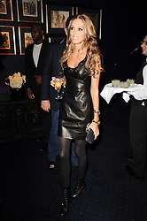 PETRA ECCLESTONE and JAMES STUNT at the Tatler Little Black Book Party held at Tramp, 40 Jermyn Street, London on 3rd November 2010.