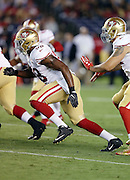 San Francisco 49ers defensive end Ronald Blair (98) rushes the quarterback during the 2016 NFL preseason football game against the San Diego Chargers on Thursday, Sept. 1, 2016 in San Diego. The 49ers won the game 31-21. (©Paul Anthony Spinelli)