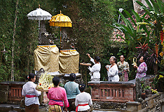 Ceremony to Open Tamarind Spa at Murni's Houses, Ubud, Bali