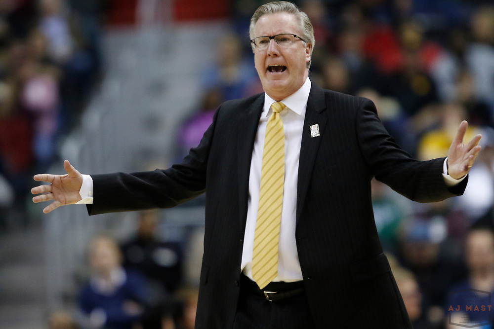 Iowa head coach Fran McCaffery in action as Indiana played Iowa in an NCCA college basketball game in the second tournament in Washington, D.C., Thursday, March 9, 2017. (Photo by AJ Mast)