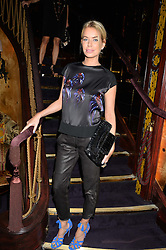 CAROLINE HABIB at a party to celebrate the launch of the Dee Ocleppo 2015 Pre Fall Collection benefiting the Walkabout Foundation held at Loulou's, 5 Hertford Street, London on 16th June 2015.