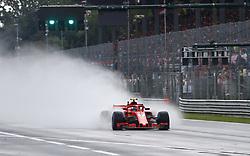 August 31, 2018 - Monza, Italy - Motorsports: FIA Formula One World Championship 2018, Grand Prix of Italy, ..#7 Kimi Raikkonen (FIN, Scuderia Ferrari) (Credit Image: © Hoch Zwei via ZUMA Wire)