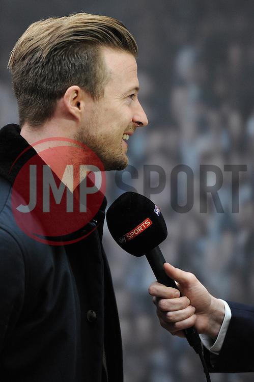 Bristol City's Wade Elliott is interviewed - Photo mandatory by-line: Dougie Allward/JMP - Mobile: 07966 386802 - 11/03/2015 - SPORT - Football - Bristol - Cabot Circus Shopping Centre - Johnstone's Paint Trophy